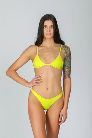 Rebel Triangle 3.0 Lemonade: bikini a triangolo giallo