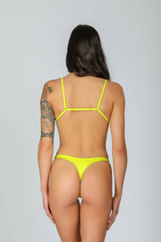 Rebel Triangle 3.0 Lemonade: bikini a triangolo giallo 1