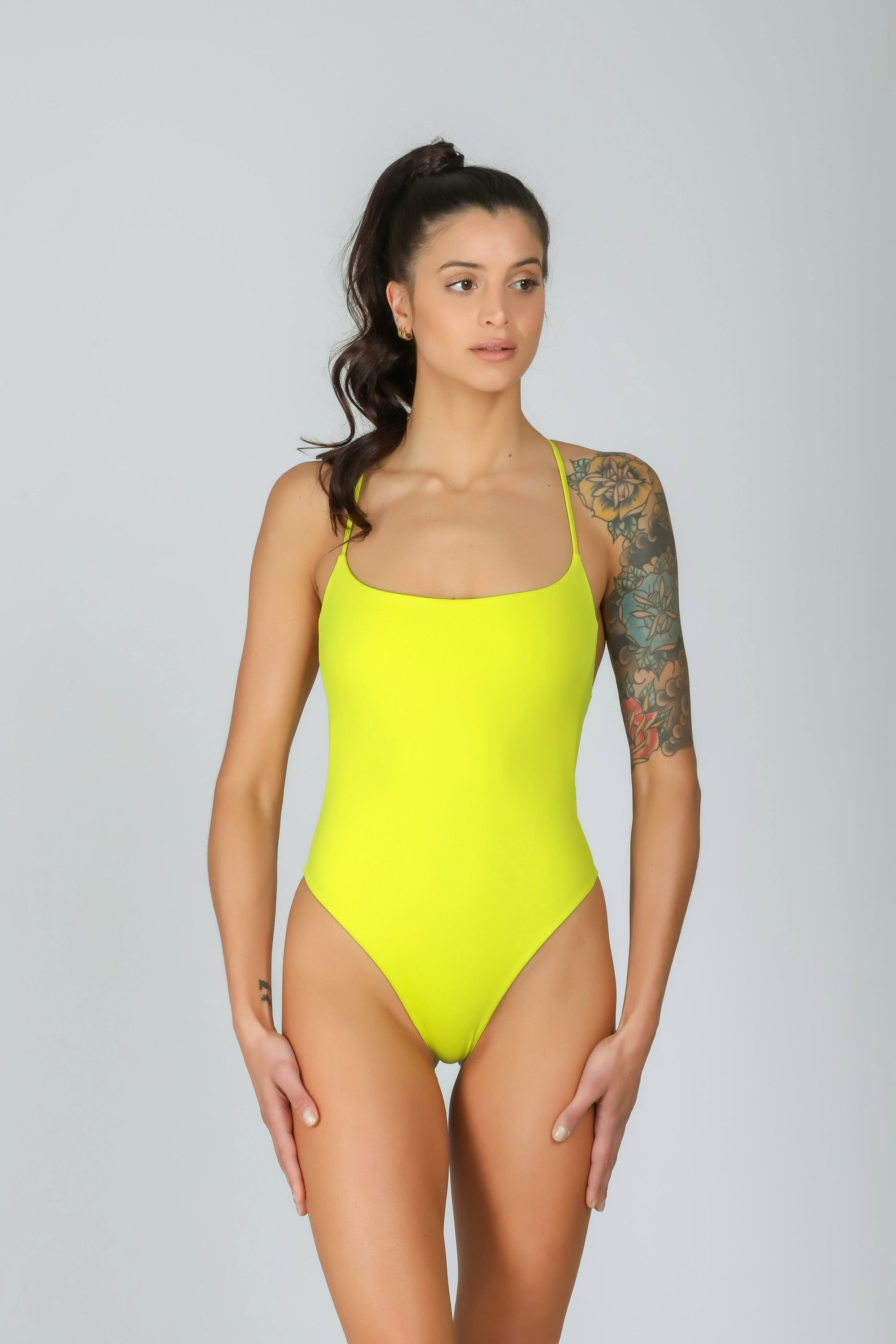 Josie One Piece Lemonade: costume intero sportivo