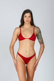 Peachy Bottom: bikini perizoma, bikini mare tanga 7#color_red-wine