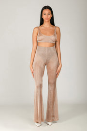 Rose Gold Crop Top: crop top estate