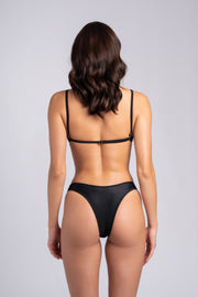 Gipsy Top 2.0: swimsuit top, swimwear costumi 1#color_ribbed-black