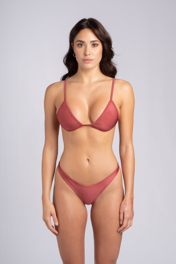 Rebel Triangle 2.0 Vintage: brazilian micro bikini swimwear