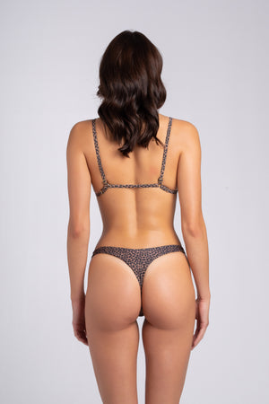 Peachy Bottom Leo: tanga mare animalier, tanga mare