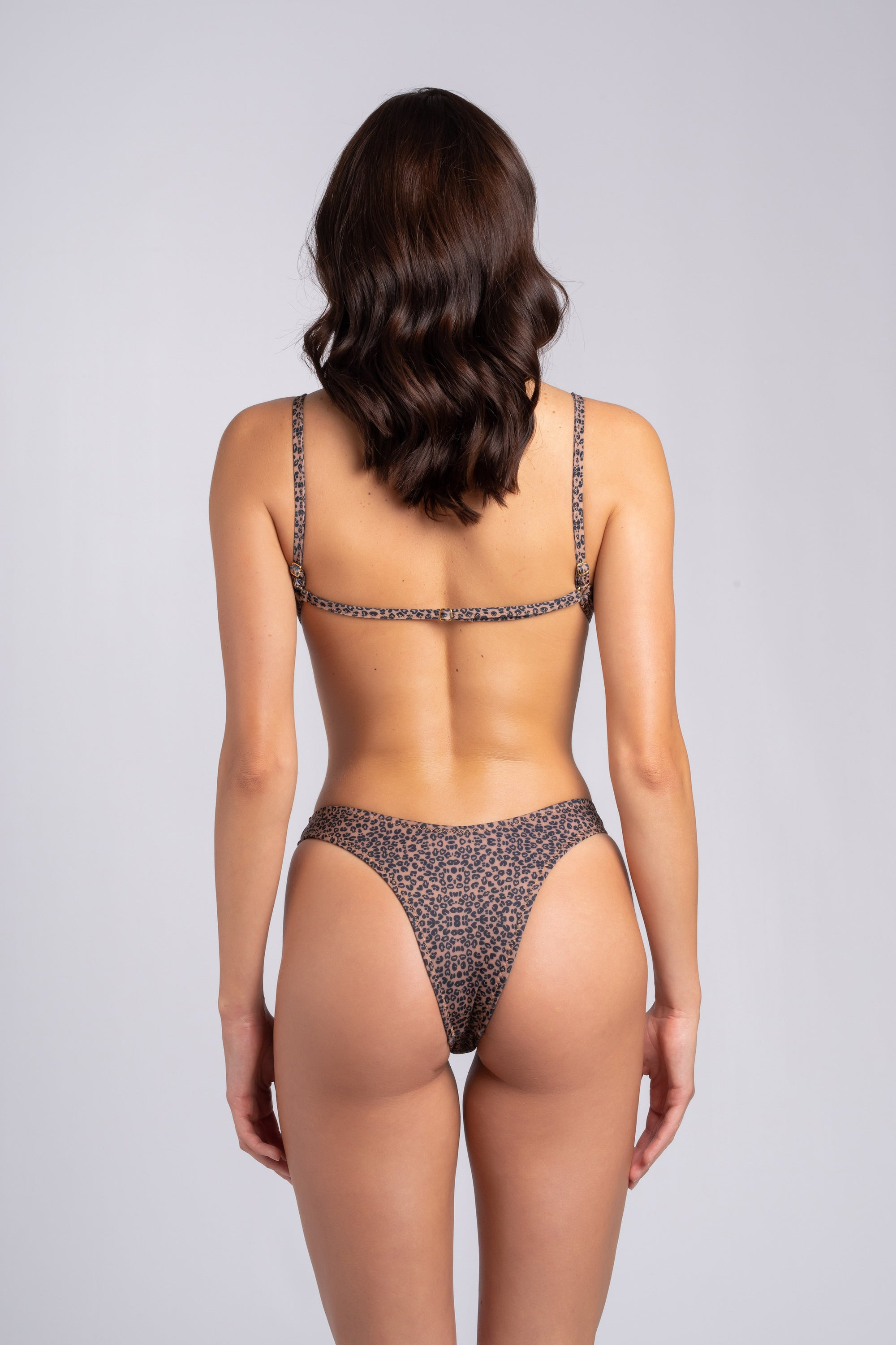 Cheeky Bottom Leo: bikini animalier bottom, perizoma mare animalier