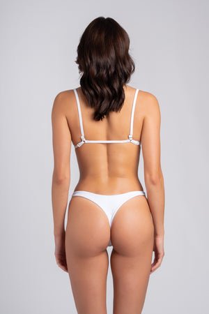 Rebel Triangle 2.0 White: bikini moda mare 2019, bikini bianco 1