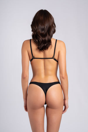 Peachy Bottom Black: costumi da bagno a perizoma