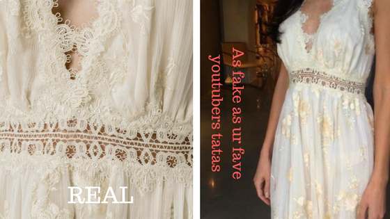 Renting Designer Dresses: Is this Zimmermann FAKE?