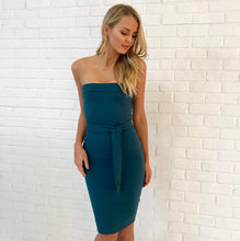 Rent Oakley Dress - Deep Green - Hire Society