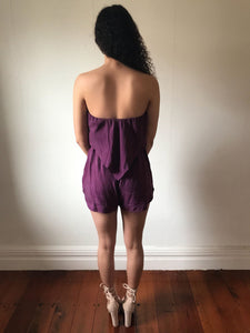 Rent Essence Layered Playsuit - Hire Society