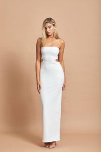 Rent Margot Gown - White - Hire Society
