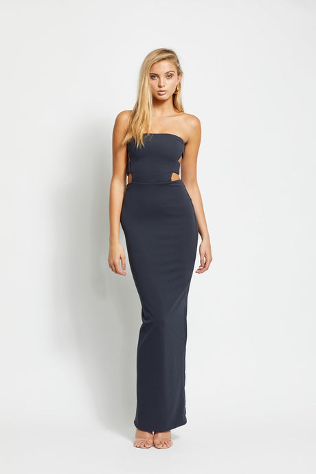 Rent Margot Gown - Slate - Hire Society