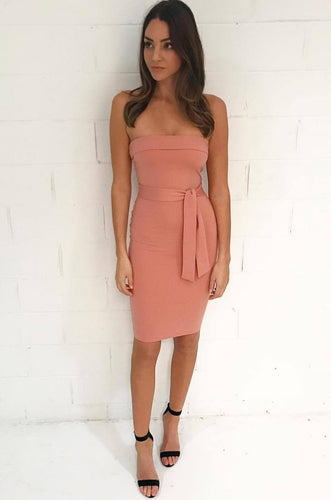 Rent Oakley Dress - Ginger - Hire Society