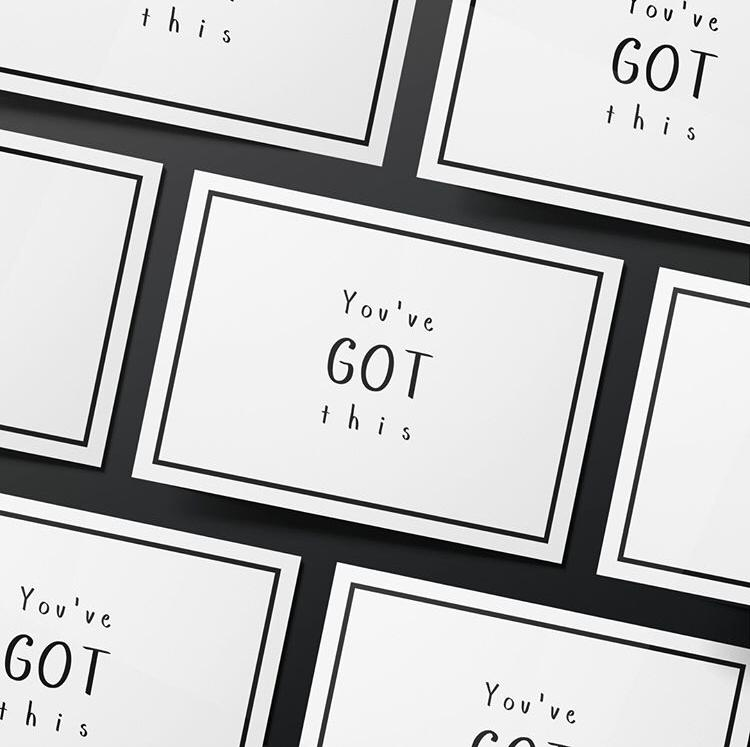 You've Got This Card - Bad Day Bandage, Card - Bramley & White | Upholstery, Homewares & Furniture