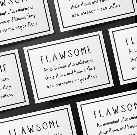 Flawsome Card - Bad Day Bandage, Card - Bramley & White | Upholstery, Homewares & Furniture