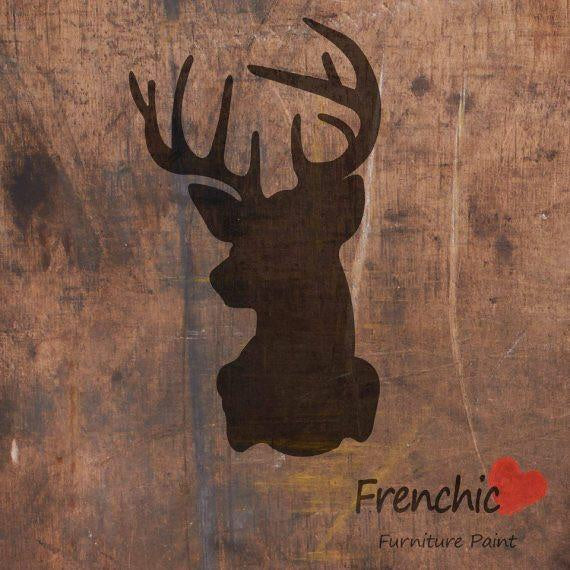 Frenchic Stencils - Royal Stag,  - Bramley & White | Upholstery, Homewares & Furniture