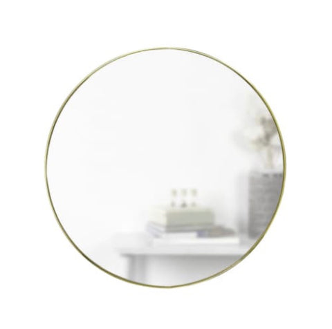 LARGE HUBBA mirror- Gold Metal,  - Bramley & White | Upholstery, Homewares & Furniture