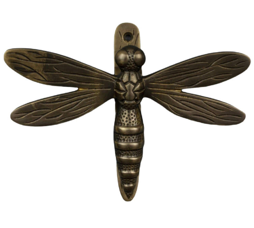 Door Knocker - Dragonfly (Bronze Finish)