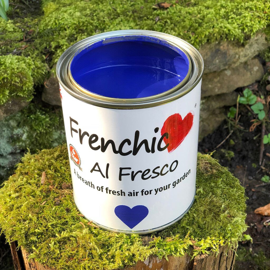 Frenchic Al Fresco paint - Kiss Me Sloely 750ml,  - Bramley & White | Upholstery, Homewares & Furniture