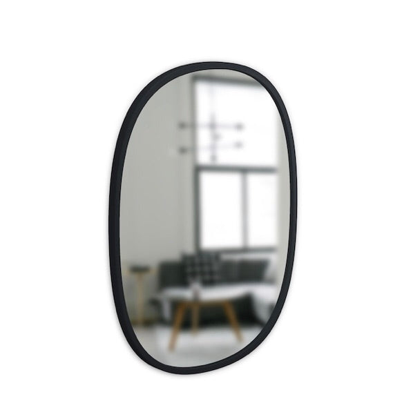 Umbra Oval HUB mirror- small,  - Bramley & White | Upholstery, Homewares & Furniture