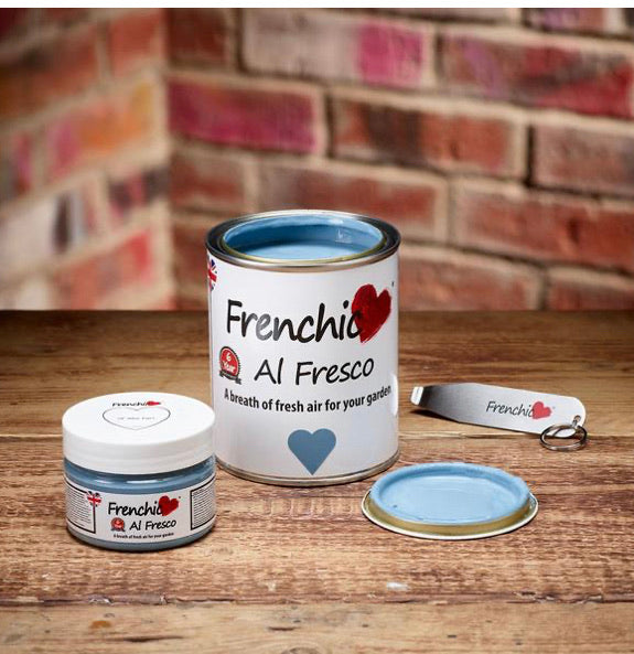 Frenchic Al Fresco paint - 'Ol Blue Eyes 750ml,  - Bramley & White | Upholstery, Homewares & Furniture