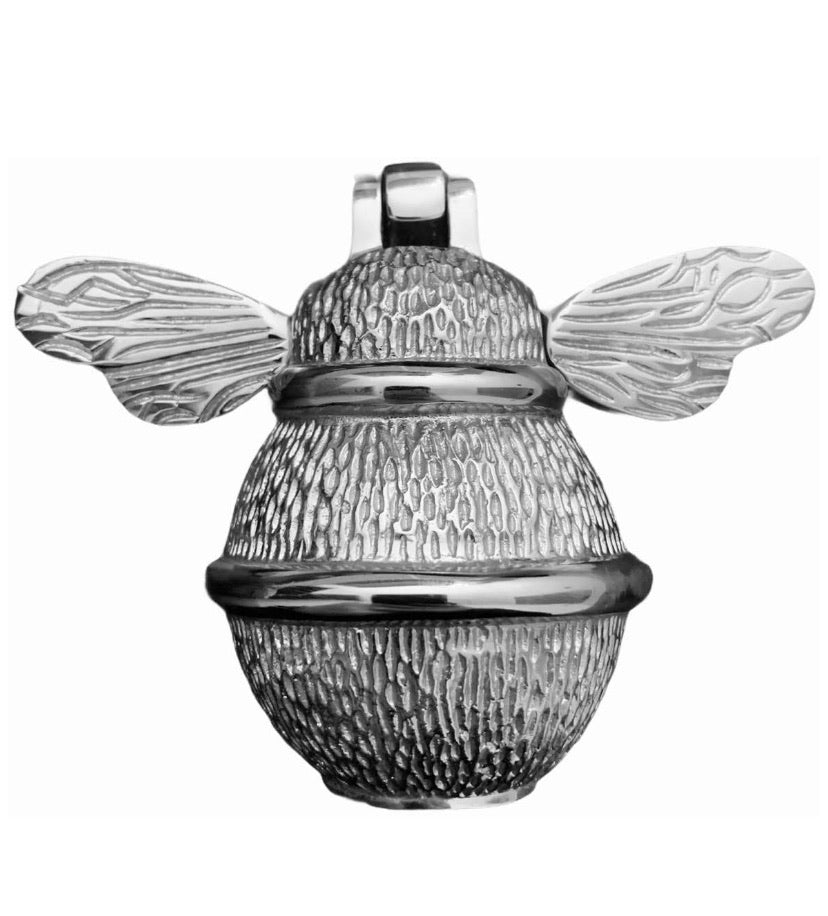 Door Knocker - Bumble Bee (Nickel Finish)