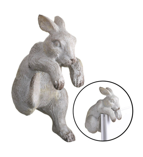 Decorative Pot Hanger Bunny - Grey