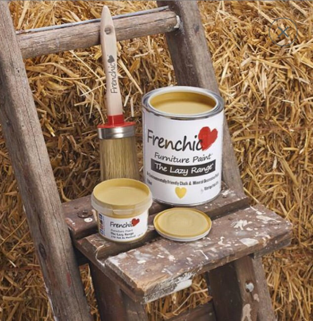Frenchic Lazy range paint  -Hot as mustard 750ml,  - Bramley & White | Upholstery, Homewares & Furniture