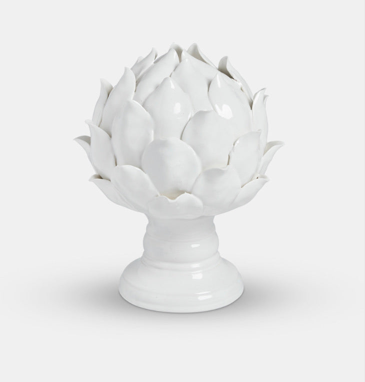 Decorative Artichoke Ornament - Ceramic
