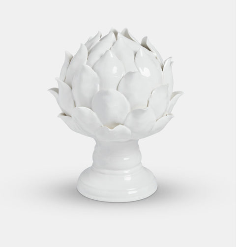 Ceramic large flower ornament