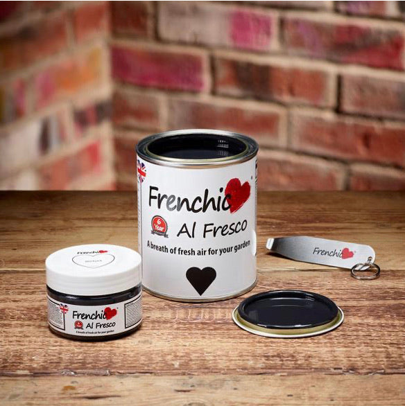 Frenchic Al Fresco paint - Blackjack 750ml,  - Bramley & White | Upholstery, Homewares & Furniture