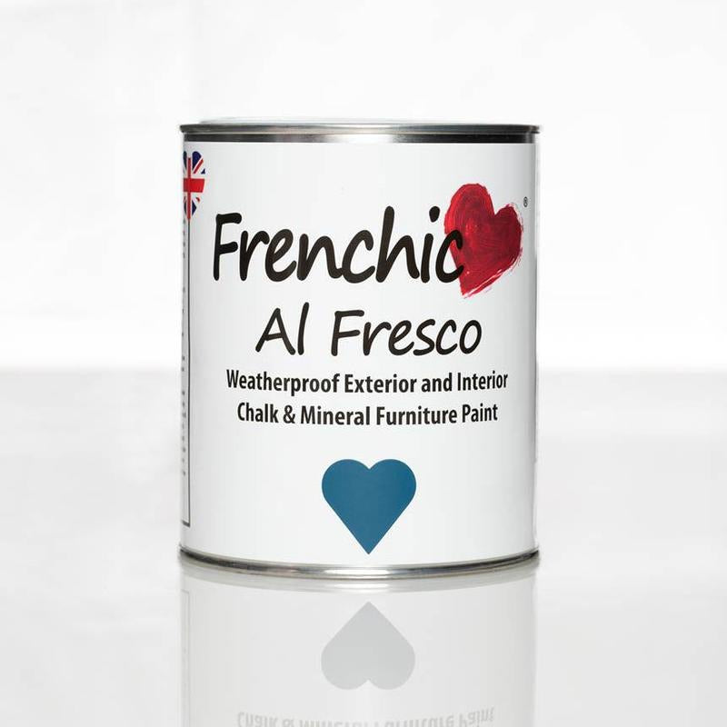 Frenchic- Al Fresco -  Steel Teal 750ml,  - Bramley & White | Upholstery, Homewares & Furniture