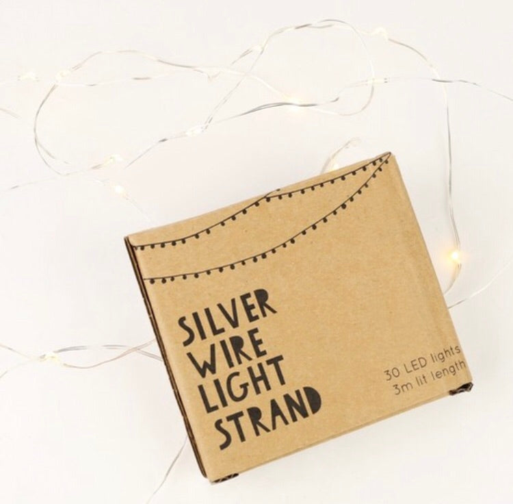 Led Sliver Twinkle Lights,  - Bramley & White | Upholstery, Homewares & Furniture