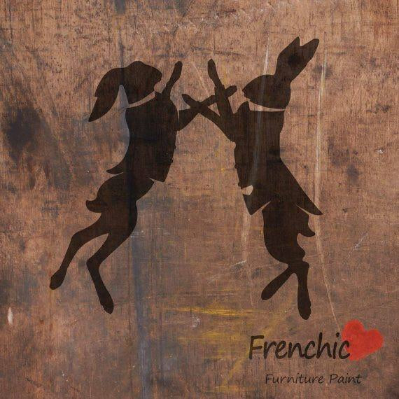 Frenchic Stencils - Boxing Hares,  - Bramley & White | Upholstery, Homewares & Furniture