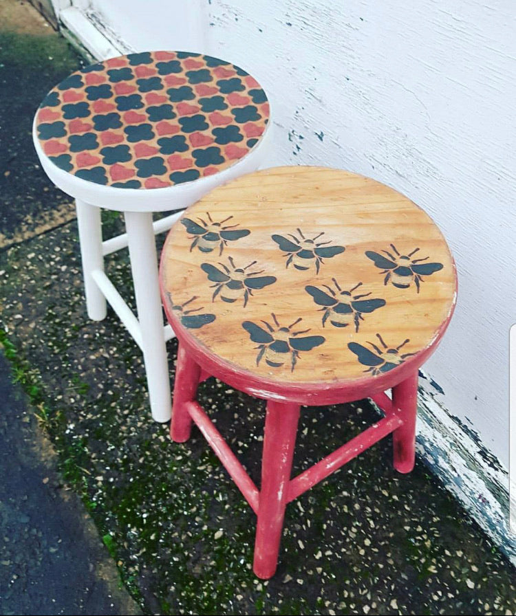 Frenchic Stencils - Busy Bees,  - Bramley & White | Upholstery, Homewares & Furniture
