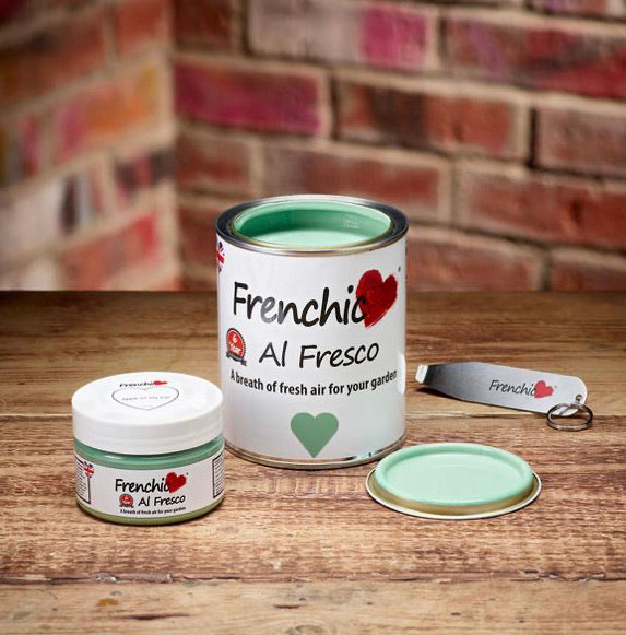 Frenchic Al Fresco paint - Apple of my Eye 750ml,  - Bramley & White | Upholstery, Homewares & Furniture