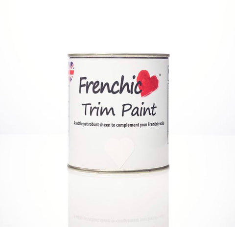 Chalk Trim paint  - Whiter than White,  - Bramley & White | Upholstery, Homewares & Furniture