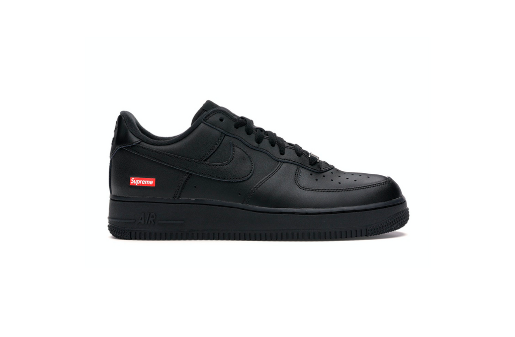 Nike x Supreme Air Force 1 'Black'