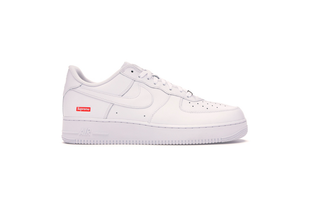 Nike x Supreme Air Force 1 'White'