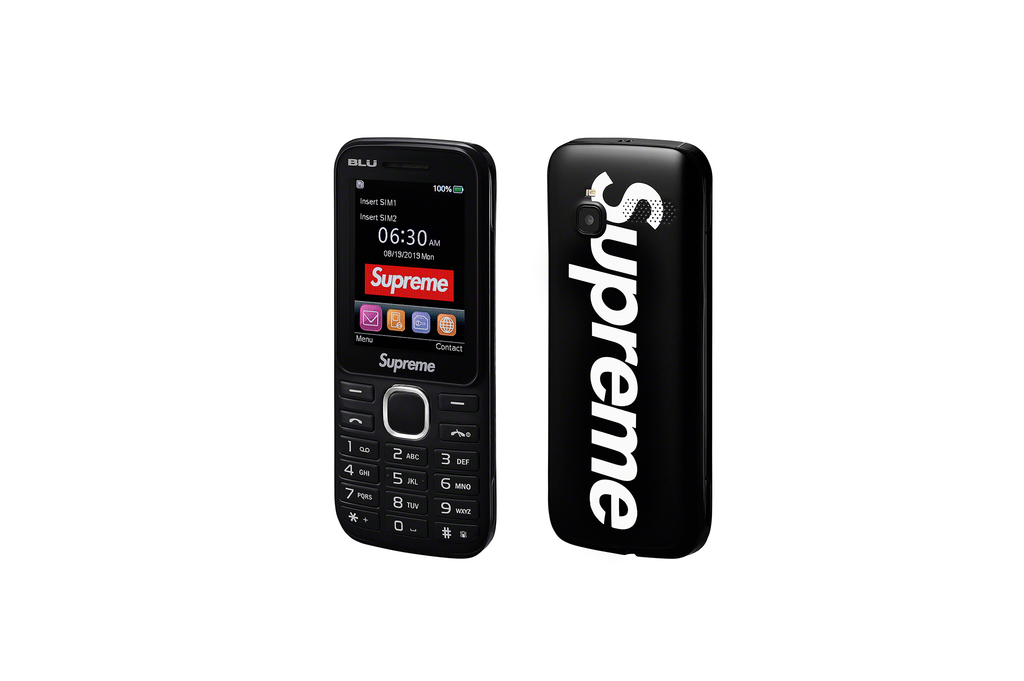 Supreme/Blu Burner Phone - Sort