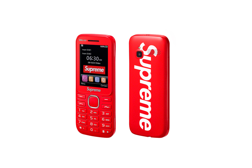 Supreme/Blu Burner Phone - Rød