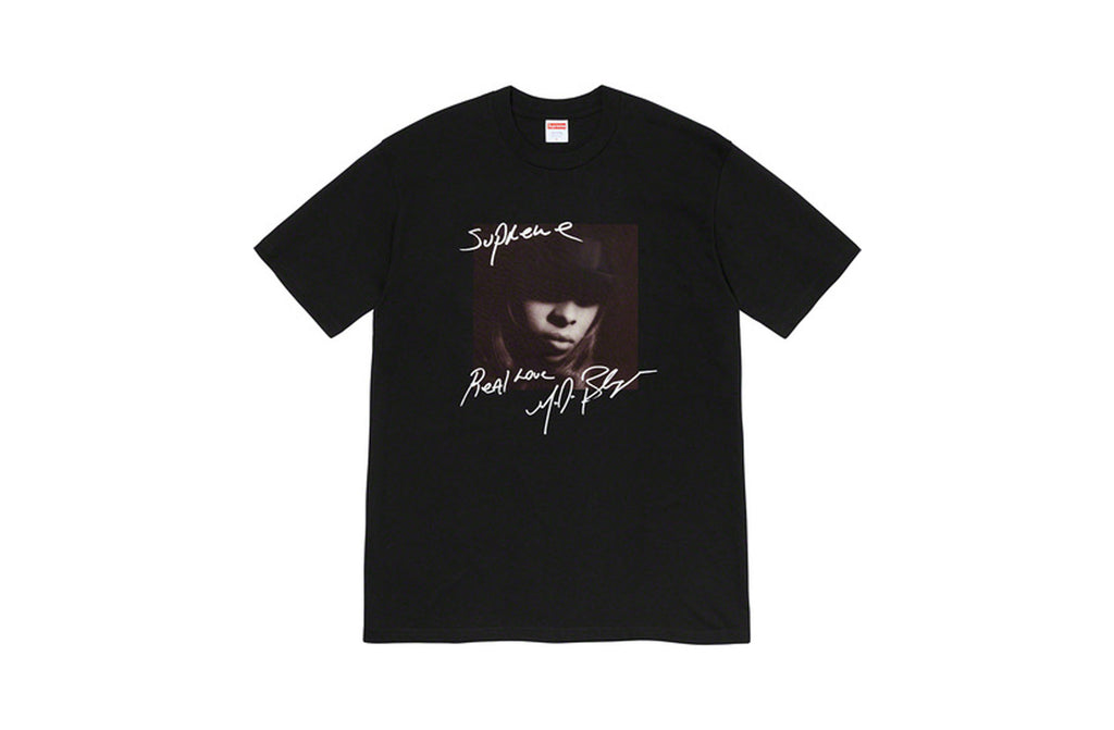 Supreme Mary J Tee - Black
