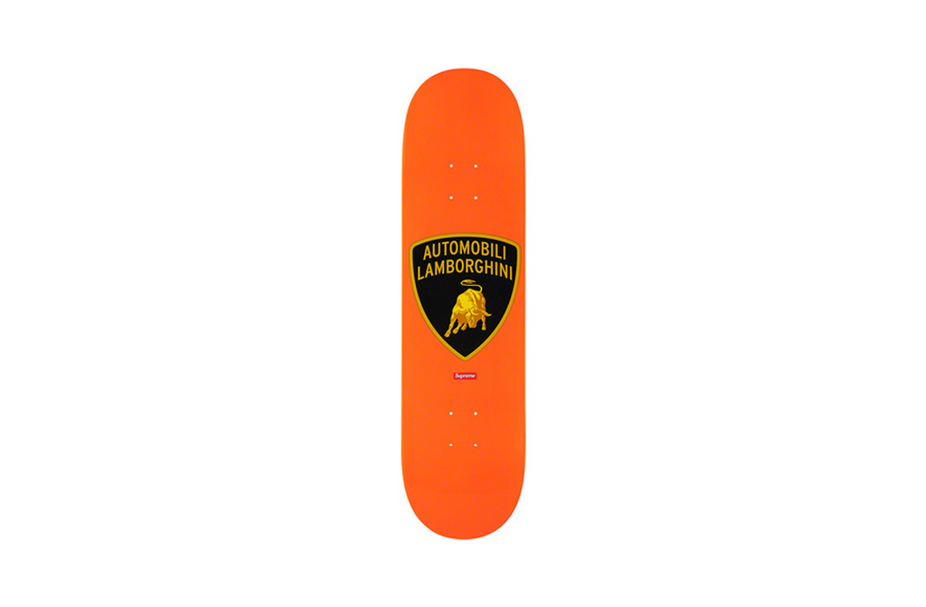 Supreme x Lamborghini Skateboard 'Orange'