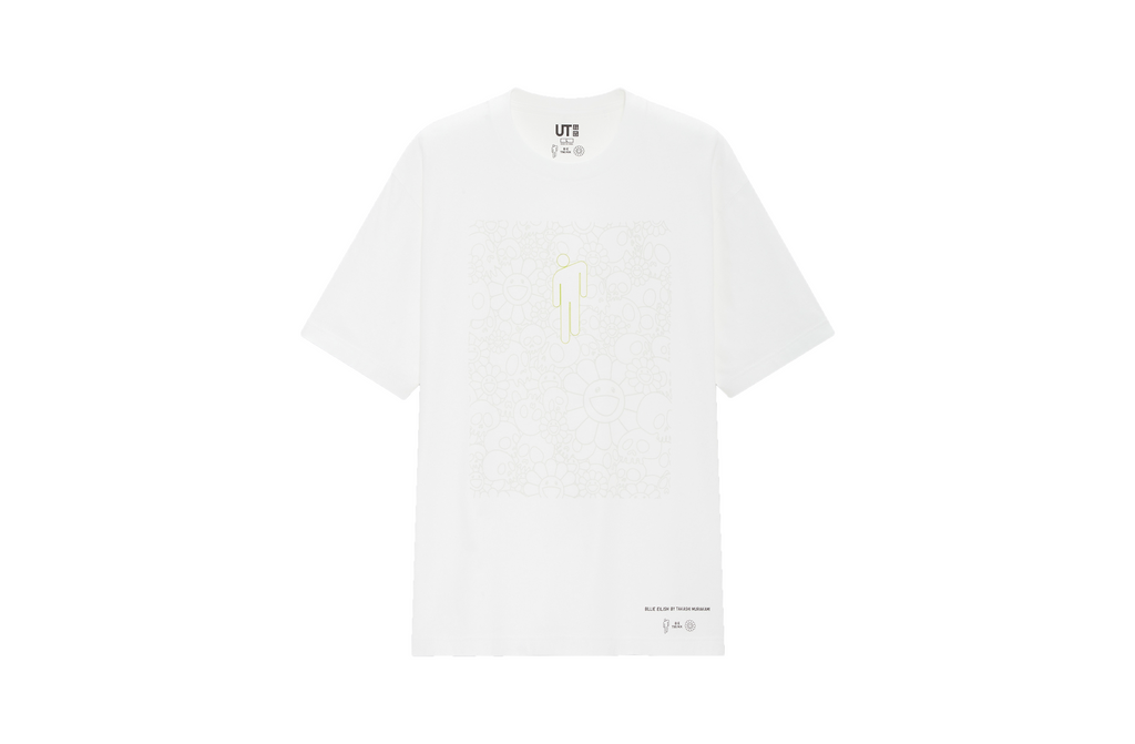 Uniqlo x Billie Eilish x Takashi Murakami Tee - White