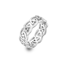 Chunky celtic knot work ring