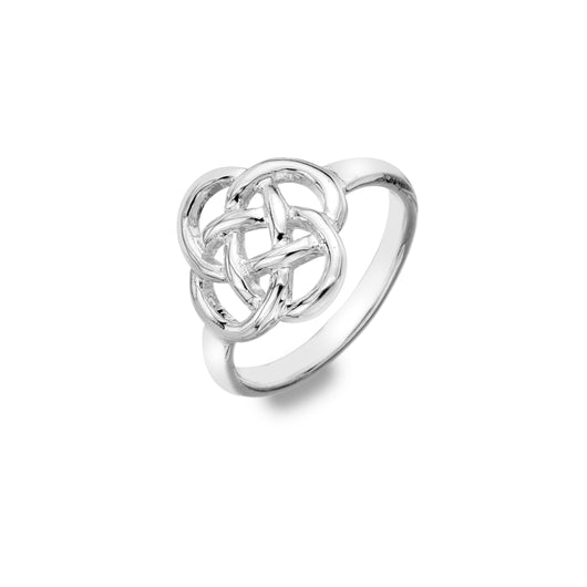 Celtic lands knot ring