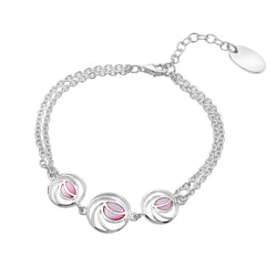 mackintosh pink rose bracelet