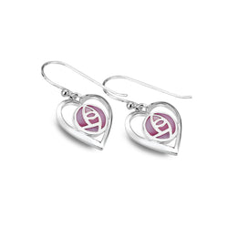 Mackintosh love earrings