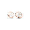 Mackintosh rose studs