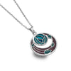 Mackintosh rose garden necklace